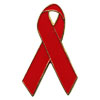 AIDS Awareness Ribbon- Metal Pins