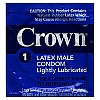 Crown Skin Less Skin Lubricated<br>Condoms (1008/case)