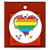Carnival Condom Beads Assorted Colors with Rainbow Hearts