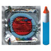 DISCONTINUED Kameleon Tri-Colored Red/White/Blue Condoms