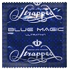 Strapped Ultrathin Blue Magic lubricated condoms
