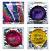 Trustex Extra Large Assorted Colored Condoms - 1000/case