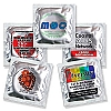 (Discontinued-redirected to custom cat) Custom Labeled Assorted Flavors Condoms (1000/case)