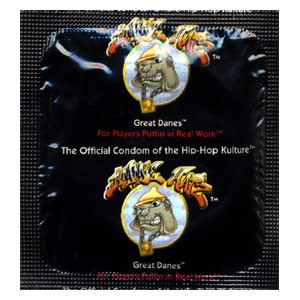 Jimmie Hatz Great Danes Condoms