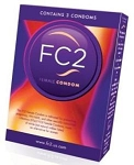 DISCONTINUED -FC2 Female Condoms 3 ct boxes