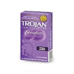 Trojan Her Pleasure Sensations Condoms (12 ct box)
