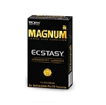 Trojan Magnum Ecstasy Ultrasmooth Condoms (10 ct Packs)