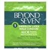 DISCONTINUED Beyond Seven Condoms Lubricated w/ Aloe