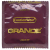 Caution Wear Grande Lubricated Condoms