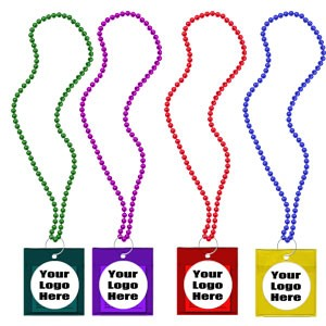 Custom Labeled Carnival Condom Beads (Assorted)
