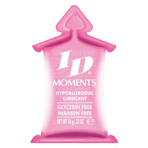 ID Moments Hypoallergenic Lubricant 10ml Pillows (1,000/ Case)