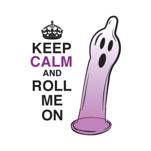 "Halloween Label ""Keep Calm and Roll Me On"""