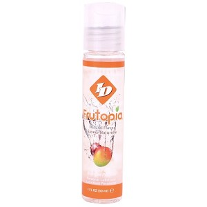 ID Frutopia Mango Passion Flavored Lubricant 1 fl oz Pocket Bottle (24/case)