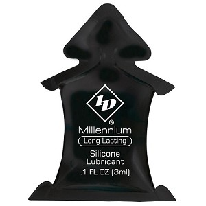 ID Millennium Silicone Lubricant 3ml Pillows (1,000/ Case)