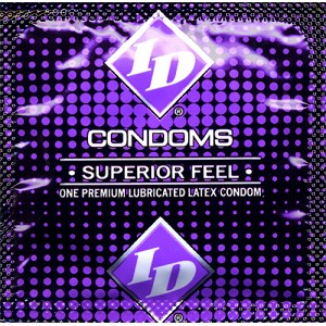 ID Superior Feel Lubricated<br>Condoms (1000/case)