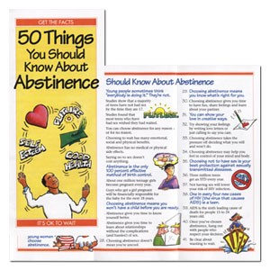 50 Things You Should Know About Abstinence