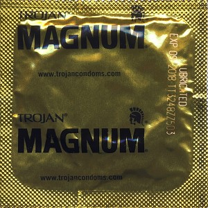 Trojan Magnum<br>Condoms (1000/Case)